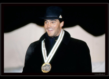 Alberto TOMBA champion olympique à Albertville