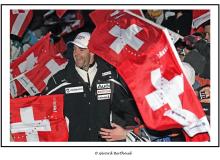 Victoire de Didier Defago au Lauberhorn