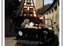 La route romantique-Rothenburg ob der Tauer
