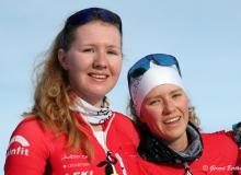 Caroline Ulrich et Thibe Deseyn
