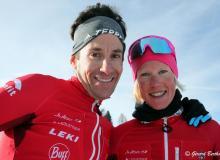 Viktoria Kreuzer et Martin Anthamatten