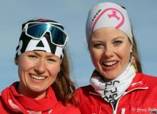 Marianne Fatton et Alessandra Schmid