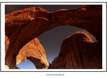 Triple Arche dans Arches National Park