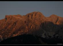 Tofana au-dessus de Cortina d'Ampezzo