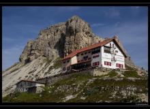Refuge Locatelli et le Sasso di Sesto