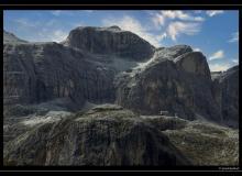 Dolomites et le refuge Franz Kostner