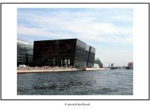 VILLE DE COPENHAG  (DANEMARK)Le Black Diamond , le centre culturel le plus actif de Copenhag