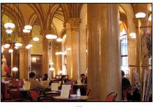 Le cafe Central de Vienne.
