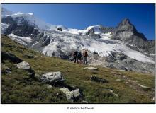 Besso et Glacier de Moming