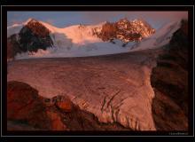 Glacier de Turtmann et Weisshorn