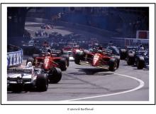Départ du Grand Prix de Monaco
