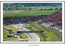 Départ du Grand Prix d'Autriche à Zeltweg