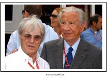 Bernie ECCLESTONE et Juan Antonio SAMARANCH