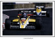 Patrick Tambay devant Niko Rosberg