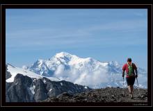 Col des Paresseux dans la massif des Dents du Midi
