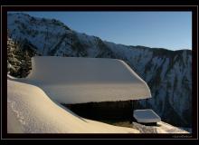 Ambiance hivernale ˆ La Loure (Mase)