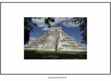 Site maya de Chichen Itza dans le Yucatan (Mexique)