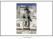 Site maya d'Inah dans le Yucatan