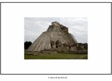 Site maya d'Uxmal dans le Yucatan.