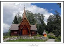 Eglise en bois debout de Lillehammer