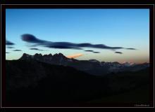 Les Dents du Midi et le Mont-Blanc