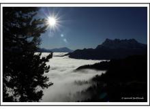 Mer de brouillard sur le Bas-Valais