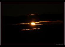 Alpes vaudoises au lever du soleil