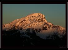 Le Mont de Granges vue du Morclan