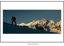 Le Vélan et le massif du Trient