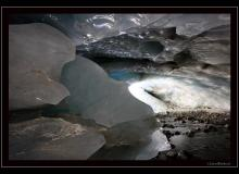 Grotte glaciaire de Zinal