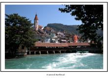 Thoune dans le canton de Berne