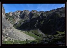 Les Dents Blanches et le lac de la Vogeale