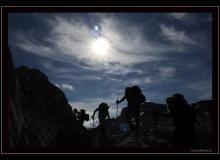 Montée au Pas du Taureau